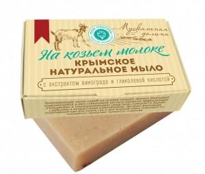 ГП_М_КМ_100_06  4640017810061 мыло МУСКАТНАЯ ДОЛИНА на козьем молоке 100 гр
