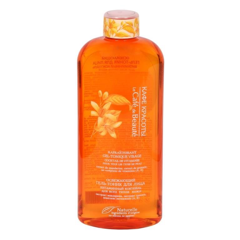 Освежающий гель-тоник для лица Витаминный коктейль (для всех типов кожи) 250мл